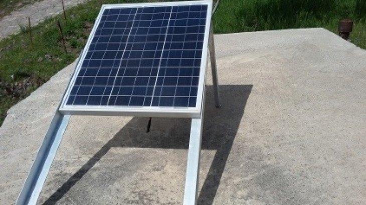 İçme Suyu Depolarına Güneş Enerjisi İle Çalışan Otomatik Klorlama Makinaları Takıldı